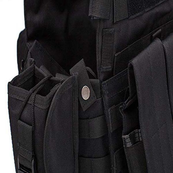 BGJ Airsoft Tactical Vest 5 Hunting Airsoft Multicam Molle Nylon Modular Vest Tactical Combat Black Vests Outdoor 6094 Vests Military Men Clothes Army Vest