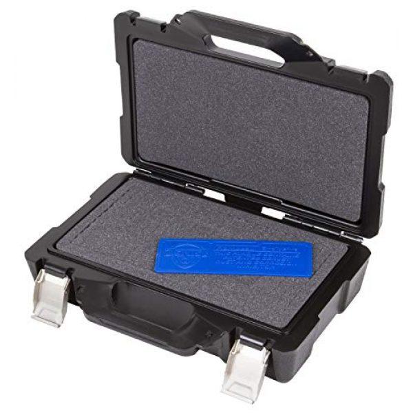 "Flambeau Outdoors Pistol Case 3 Flambeau Outdoors 35DWS Safe Shot Double Wall Single Pistol Case 12"", Portable Firearm Storage Accessory, Black"
