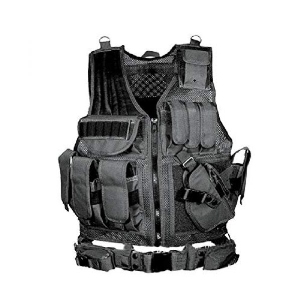 BGJ Airsoft Tactical Vest 1 BGJ Tactical Vest Airsoft Paintball Vests Molle Combat Assault Men Army CS Hunting Vest Camping Hiking Accessories