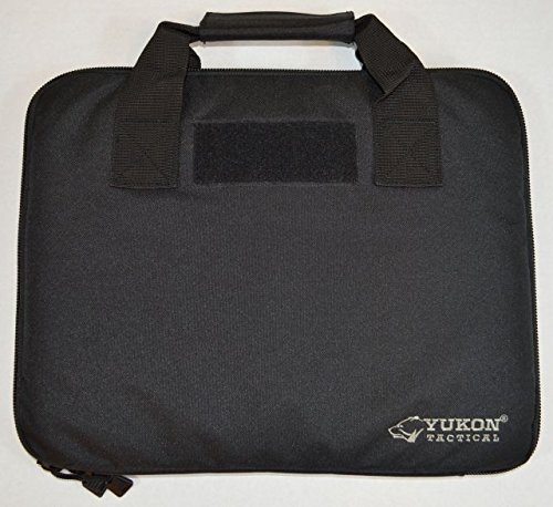 Yukon Tactical Pistol Case 1 Yukon Tactical Outfitters MG-PC0011 Big Bore Pistol Case, Black