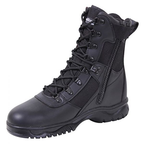Rothco Combat Boot 1 Insulated 8 Inch Side Zip Tactical Boot