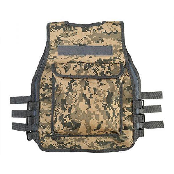 GOTOTOP Airsoft Tactical Vest 2 GOTOTOP Body Armor Vest, Nylon Mesh Children's Body Armor Vest, Body Armor Vest for CS Outdoor Sports Shootout Training