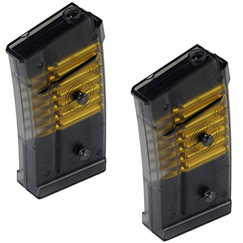 UKARMS  1 (2X) Double Eagle M82 M82P Spare Clip or Magazine for Tactical Airsoft AEG Rifle