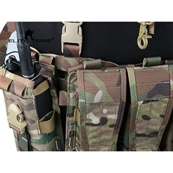 Paintball Equipment Airsoft Tactical Vest 2 Paintball Equipment Emerson Molle System Low Profile Chest Rig Multicam MC