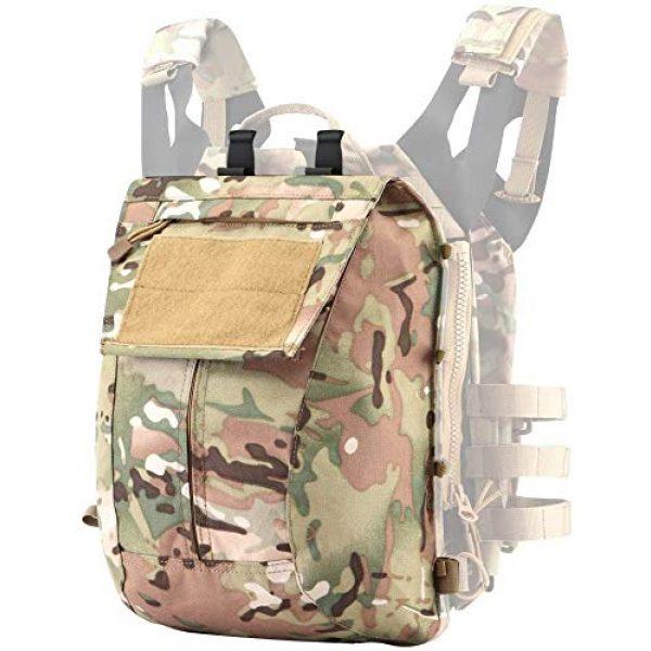 Kayheng Airsoft Tactical Vest 2 Kayheng Tactical Vest + Backpack/Modular Vest + Backpack/Breathable Combat Training JPC Vest Adjustable Lightweight MOLLE Vest