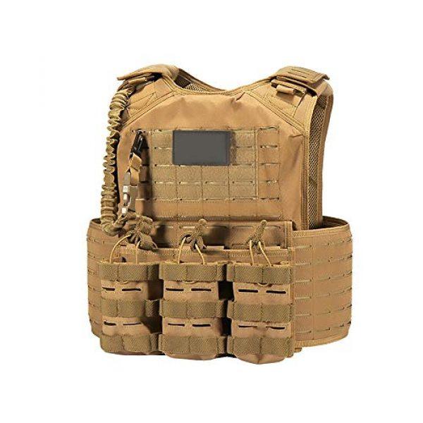 WEQ Airsoft Tactical Vest 1 WEQ CS Tactical Vest Modular Vest Outdoor Sports Camouflage Vest Combat Training Vest
