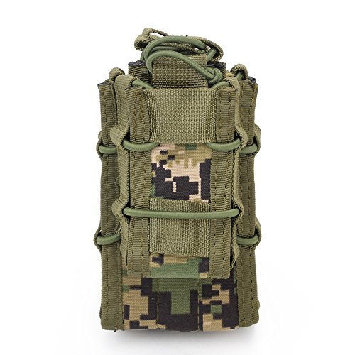 ATAIRSOFT  5 ATAIRSOFT Tactical 1000D Nylon Double MAG Pouch for Hunting Wargame Airsoft Molle Magazine Pouch