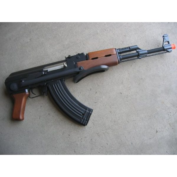 Double Eagle Airsoft Rifle 2 Double Eagle AK-47S Metal Electric 425 FPS Airsoft Assault Rifle Gun