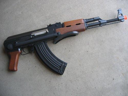 Double Eagle  2 Double Eagle AK-47S Metal Electric 425 FPS Airsoft Assault Rifle Gun