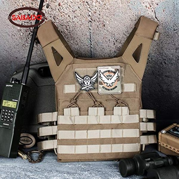 Shefure Airsoft Tactical Vest 2 Shefure Cardura Rip-Stop Military Tactical Combat Vests,Outdoor Hunting Waistcoats Anti-stab Thickening Paintball Vest