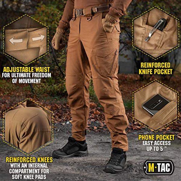 M-Tac Tactical Pant 5 Aggressor Flex - Tactical Pants - Men Cotton with Cargo Pockets