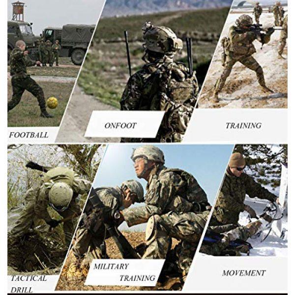 LANBAOSI Tactical Pant 6 Men's Tactical Military BDU Pants Combat Woodland Camo Outdoor Gear Trousers