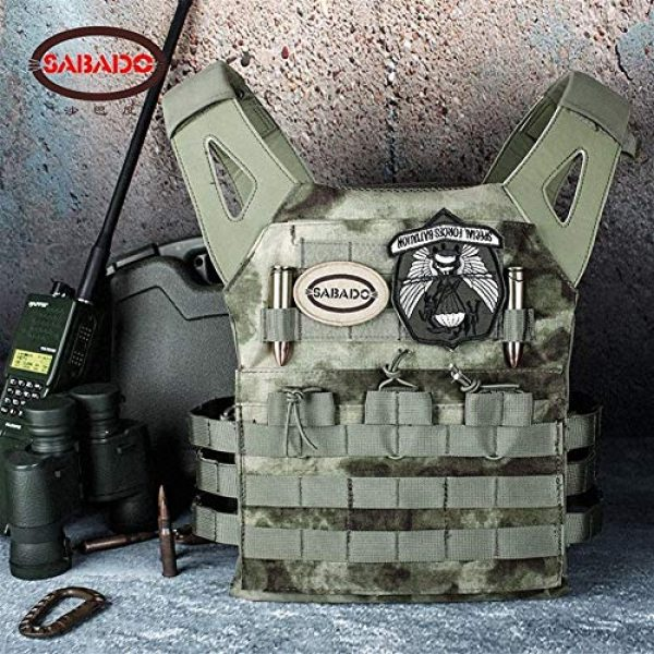 Shefure Airsoft Tactical Vest 5 Shefure Cardura Rip-Stop Military Tactical Combat Vests,Outdoor Hunting Waistcoats Anti-stab Thickening Paintball Vest