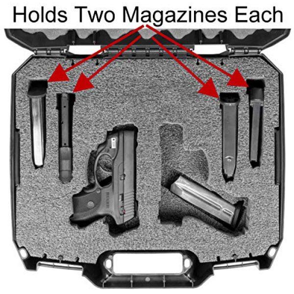 Case Club Pistol Case 3 Case Club Pre-Cut Pistol Carrying Cases