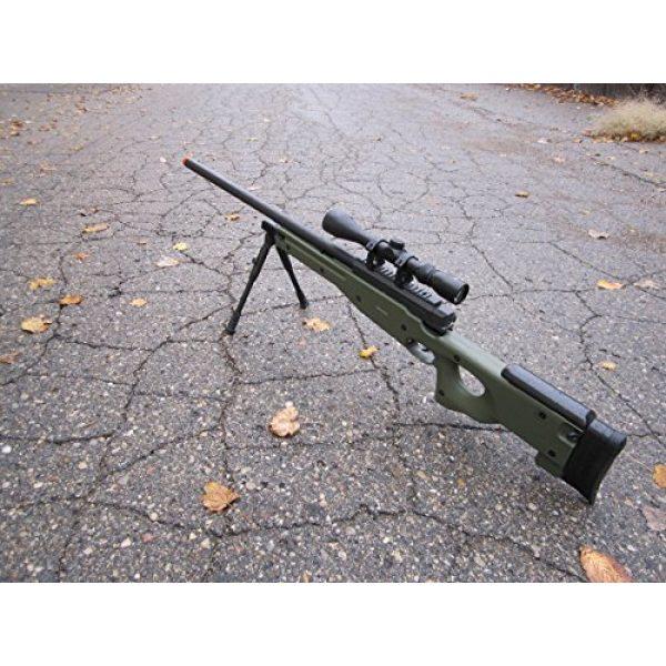 Well Airsoft Rifle 1 wellfire mk96 bolt action awp sniper rifle w/ scope and bipod - od(Airsoft Gun)
