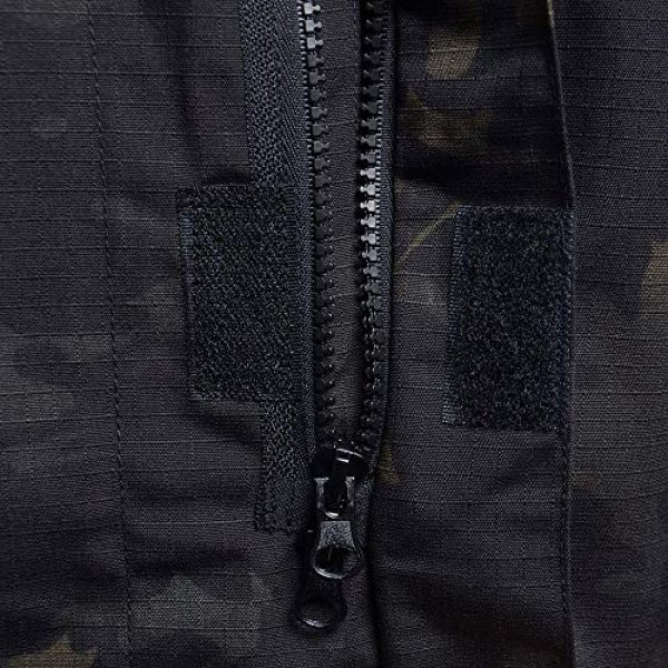 AKARMY Tactical Shirt 5 Unisex Lightweight Military Camo Tactical Camo Hunting Combat BDU Uniform Army Suit Set
