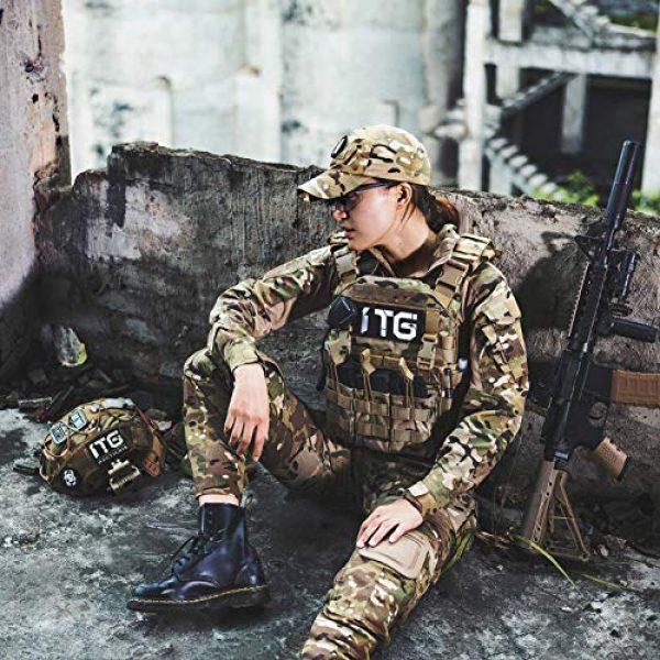 OneTigris Airsoft Tactical Vest 5 OneTigris Multicam Airsoft Vest & Low Profile Tactical Vest