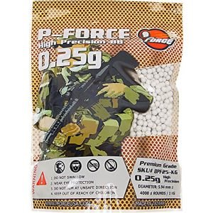P-Force Airsoft BB 1 P-Force Super Premium BB 0.25g / KG/Bag/White