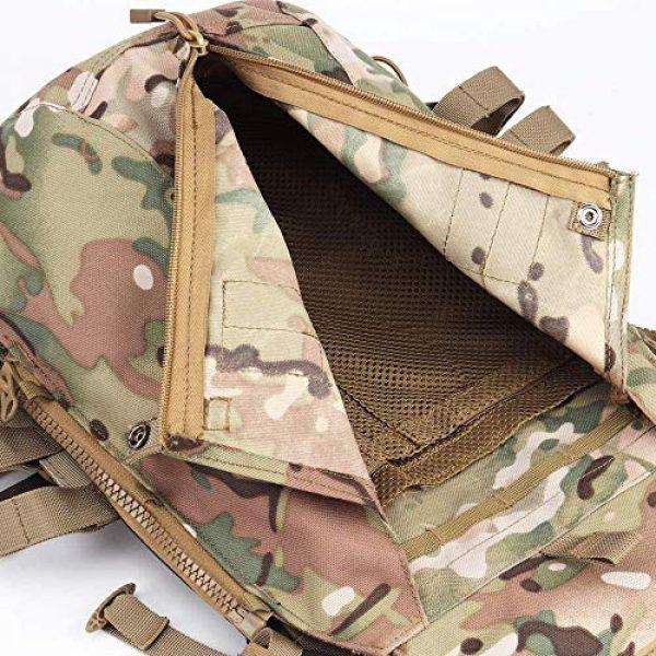 Kayheng Airsoft Tactical Vest 5 Kayheng Tactical Vest + Backpack/Modular Vest + Backpack/Breathable Combat Training JPC Vest Adjustable Lightweight MOLLE Vest