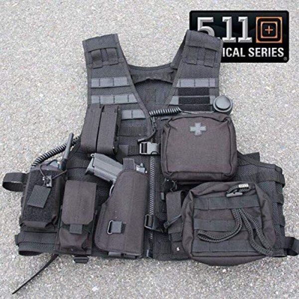 5.11 Airsoft Tactical Vest 7 5.11 LBE Vest Black, Regular