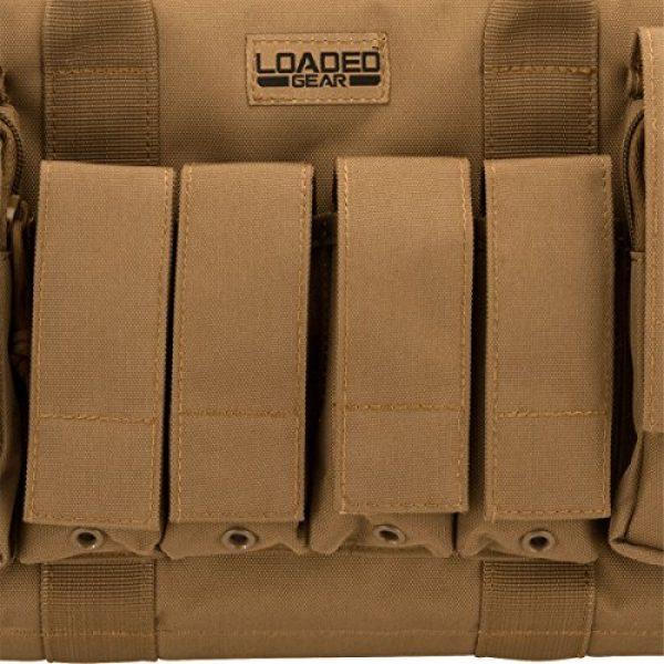BARSKA Pistol Case 6 BARSKA Loaded Gear RX-50 Tactical Pistol Bag, 16-Inch