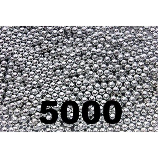BC Precision Air Gun Pellet 1 BC Precision 5000 ct Silver Zinc Plated Metal BBS 4.5mm (.177 Cal)