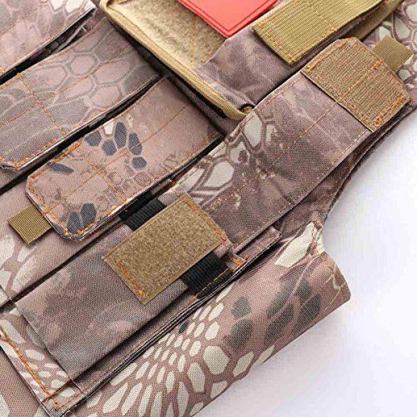 "Nuxn Airsoft Tactical Vest 5 Nuxn Kids Tactical Vest Black Lightweight Children Field Combat Training Protective Vest Adjustable Shooting Hunting Molle Clothes'""Children Camo Vest Jacket Waistcoat Camouflage Vest"