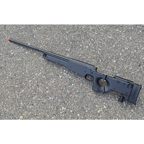 Well Airsoft Rifle 1 spring Well mb08a l96 bolt action sniper rifle black fps-550 airsoft gun(Airsoft Gun)