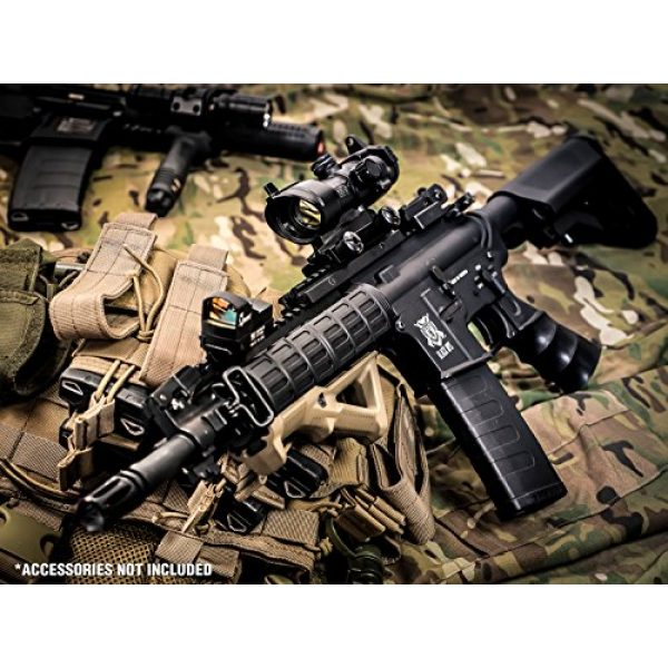 Black Ops Airsoft Rifle 6 Black Ops M4 Diamondback Airsoft AEG Rifle - Automatic Airsoft - Shoot .20 .25