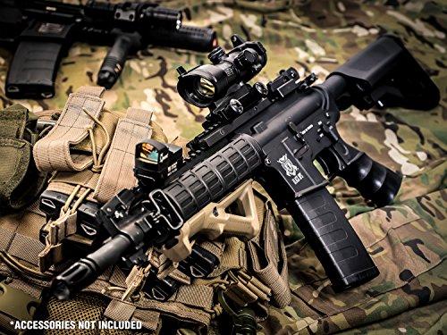 Black Ops  6 Black Ops M4 Diamondback Airsoft AEG Rifle - Automatic Airsoft - Shoot .20 .25
