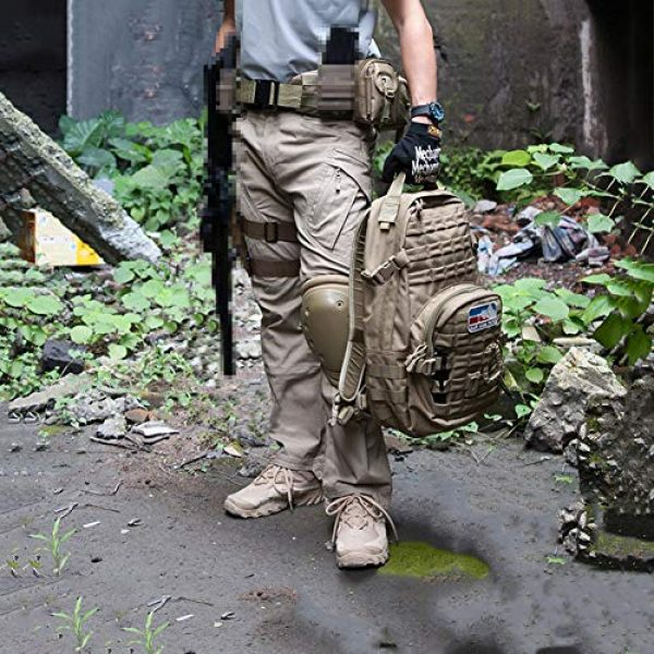CARWORNIC Tactical Pant 4 Gear Men's Assault Tactical Pants Lightweight Cotton Outdoor Military Combat Cargo Trousers