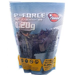 P-Force Airsoft BB 1 P-Force Super Premium BB 0.20g / KG/Bag/Black