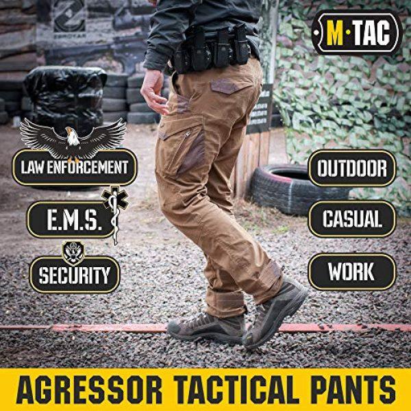 M-Tac Tactical Pant 2 Aggressor Flex - Tactical Pants - Men Cotton with Cargo Pockets