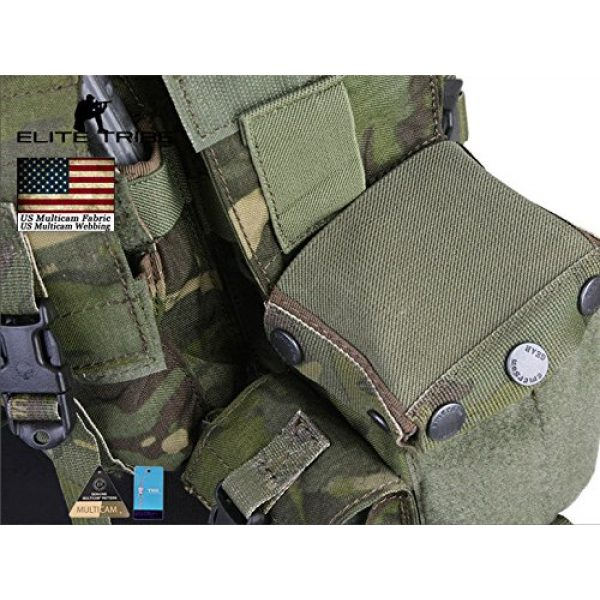 Elite Tribe Airsoft Tactical Vest 7 Elite Tribe Airsoft Military Molle Vest Combat Tactical LBT 1961A R Style Load Bearing Chest Rig