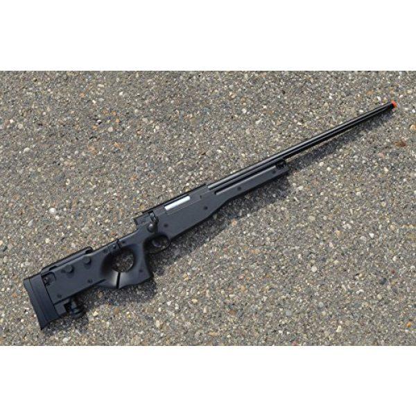 Well Airsoft Rifle 2 spring Well mb08a l96 bolt action sniper rifle black fps-550 airsoft gun(Airsoft Gun)