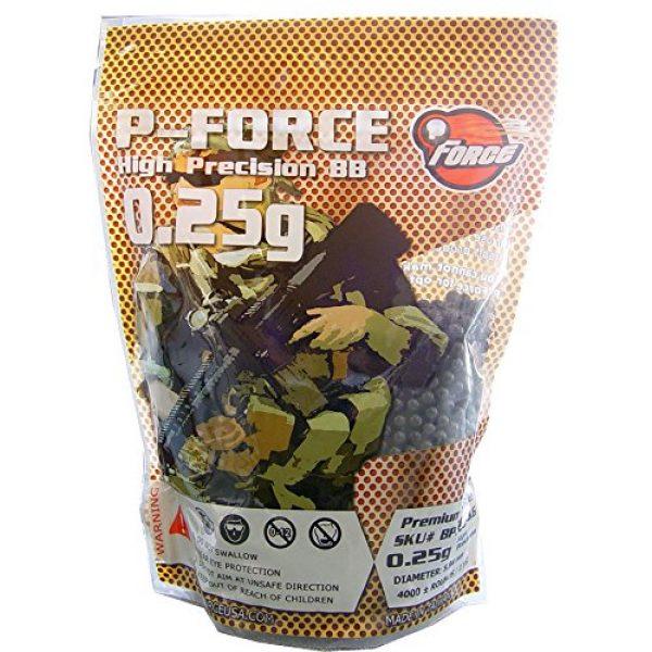 P-Force Airsoft BB 1 P-Force Super Premium BB 0.25g / KG/Bag/Black