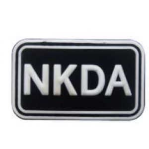 Tactical PVC Patch Airsoft Morale Patch 1 No Known Drug Allergy NKDA Morale Military Patch 3D PVC Rubber Tactical Rubber Hook Patch (color1)