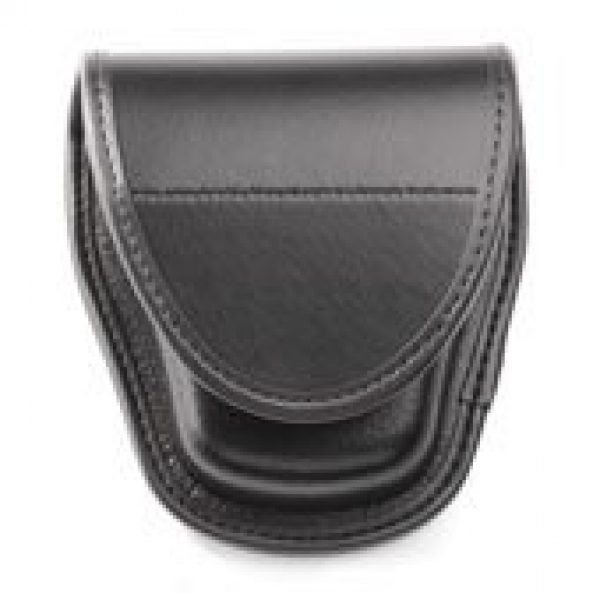 BLACKHAWK Tactical Pouch 2 BLACKHAWK Molded Plain Black Single Handcuff Pouch