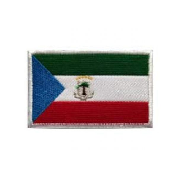 Tactical Embroidery Patch Airsoft Morale Patch 1 Equatorial Guinea Flag Embroidery Patch Military Tactical Morale Patch Badges Emblem Applique Hook Patches for Clothes Backpack Accessories
