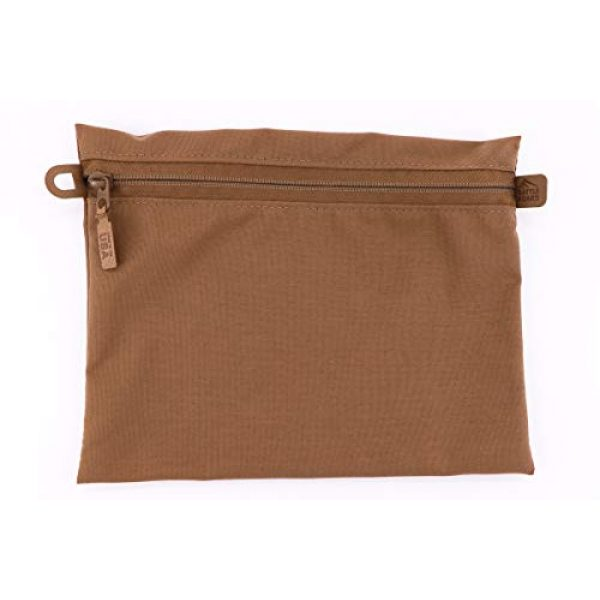 Battle Board Tactical Pouch 4 Battle Board Tactical Zip Pouch - Coyote Accessory Pouch