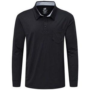Tyhengta Tactical Shirt 1 Tyhengta Mens Polo Shirt Long Sleeve Quick Dry Performance Lightweight Tactical Shirts