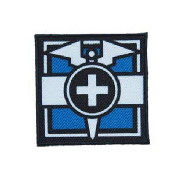 Embroidery Patch Airsoft Morale Patch 1 Rainbow Six DOC Printed Patch Military Tactical Clothing Accessory Backpack Armband Sticker Gift Patch Decorative Patch Embroidered Patch