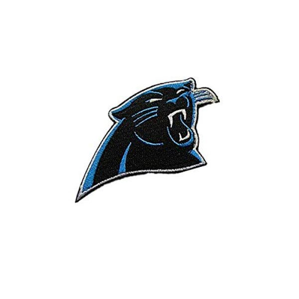 Embroidery Patch Airsoft Morale Patch 2 National Football League Carolina Military Hook Loop Tactics Morale Embroidered Patch