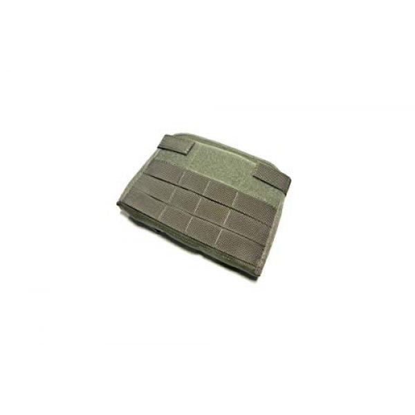 Airsoft Mega Armory Tactical Pouch 1 Airsoft Mega Armory AMA Mini 1000D Admin Modular Pouch - Ranger Green