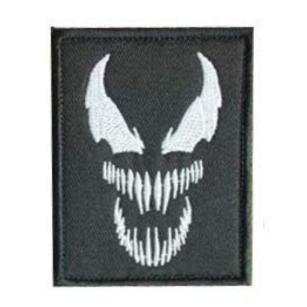 Embroidery Patch Airsoft Morale Patch 1 Venom Monster Marvel Movies Superhero Military Hook Loop Tactics Morale Embroidered Patch