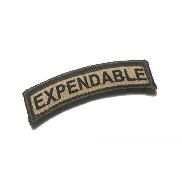 Empire Tactical USA Airsoft Morale Patch 1 The Tactical Expendable Tab Patch Military Morale Patch