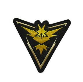 Tactical Embroidery Patch Airsoft Morale Patch 1 Zapdos Team Mysic Tactical Embroidery Patch Hook & Loop Morale Patch Military Patch for Clothing Accessory Backpack Armband