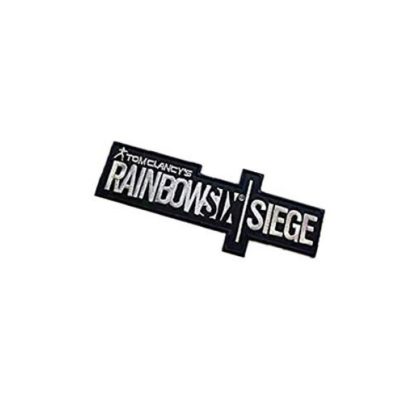Embroidery Patch Airsoft Morale Patch 3 Rainbow Six Siege Military Hook Loop Tactics Morale Embroidered Patch