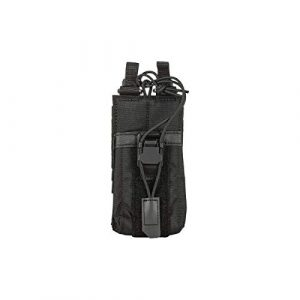 5.11 Tactical Pouch 1 5.11 Tactical Comapct, Lightweight Flex Radio Pouch, Style # 56428, Black