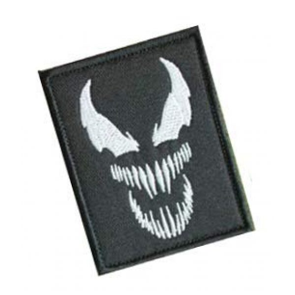 Embroidery Patch Airsoft Morale Patch 2 Venom Monster Marvel Movies Superhero Military Hook Loop Tactics Morale Embroidered Patch